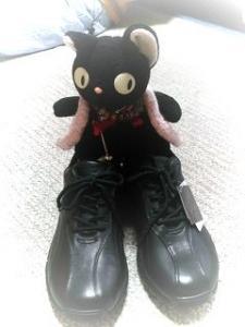 魔女猫の靴?