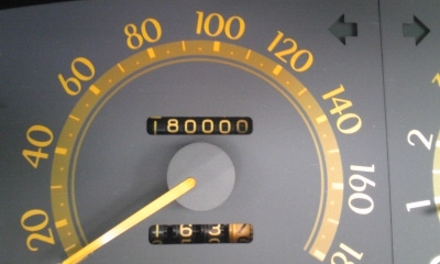 18万キロ到達