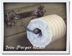 トイレットペーパーホルダー(お花)