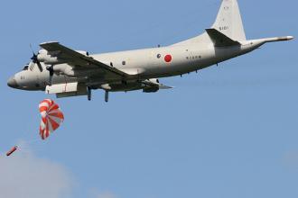 日本海上自#21355;#38431;P-3C反潜机#23454;施反潜作#25112;#35757;#32451;