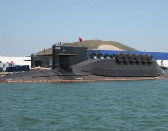 中國海軍新型094級戰略核潛艇