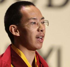 世界仏教フォーラム パンチェン・ラマ