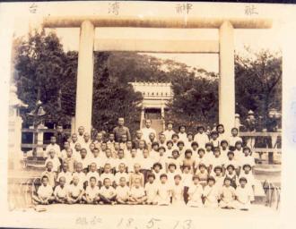 台湾神社卒業旅行 北斗