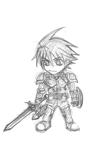 戦士・リード