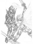 騎士ザイン&魔剣士シオン