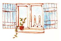 illust-sunnydays9 usagi