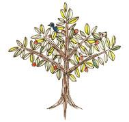 illust-sanpo1 tree