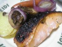 カシオ 鮭