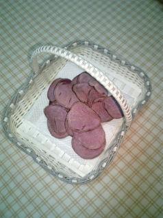 紫チップス