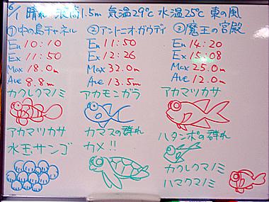 宮古島 ログデータ 2009/6/1