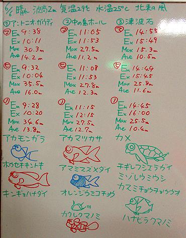 宮古島 ログデータ 2009/6/6