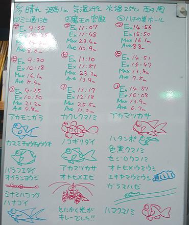 宮古島 ログデータ 2009/6/7
