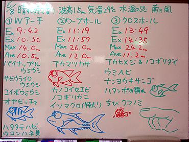 宮古島 ログデータ 2009/6/8