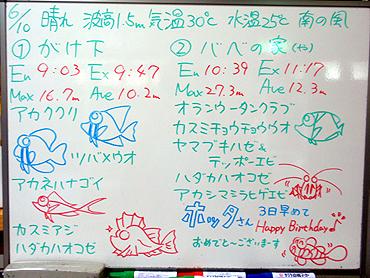 宮古島 ログデータ 2009/6/10