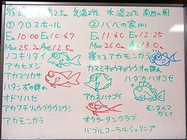 宮古島 ログデータ 2009/6/13