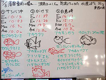 宮古島 ログデータ 2009/7/5