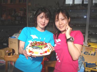宮古島 イマイズミさん100本記念