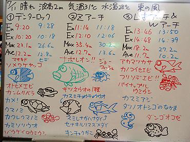宮古島 ログデータ 2009/7/11
