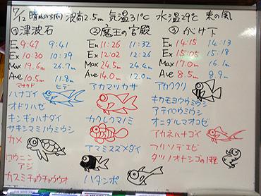 宮古島 ログデータ 2009/7/12