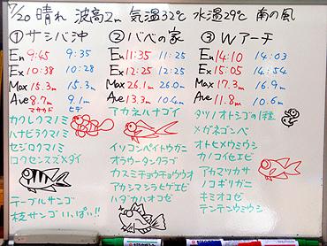 宮古島 ログデータ 2009/7/20