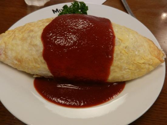 A4須 洋食 御幸亭+オムライス大盛り+(1)
