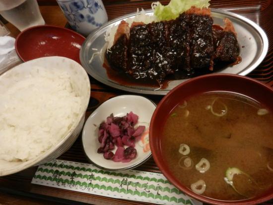 0古屋大須 洋食 御幸亭+味噌カツ定食