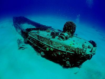 サイパン沈船