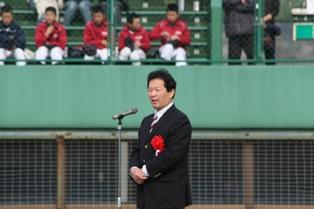 2009野球大会 (1)市長