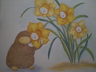 お花になったコロロ