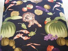 京野菜の座布団