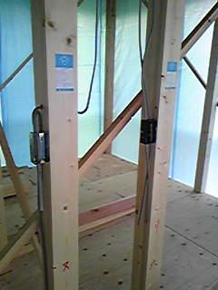 電気工事 - 内部電気配線2