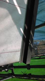 屋根工事 - けらば水切り・捨て板取り付け