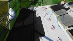 屋根工事 - カラーベスト施工
