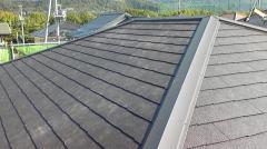 屋根工事 - 屋根完了