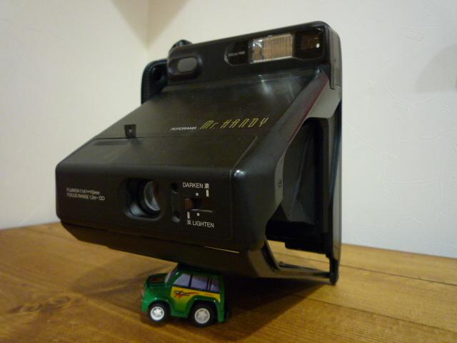 フジフィルム版ポラロイドカメラ、フォトラマ。
