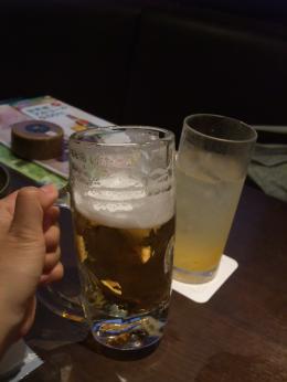 kyoさんと二人飲み♪宙語り♪♪