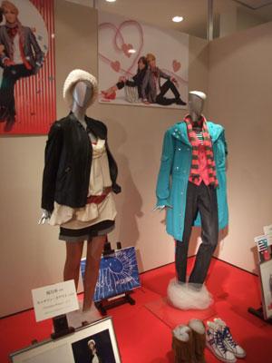 パラダイスプリンス:スチュアートとキャサリンのお衣装