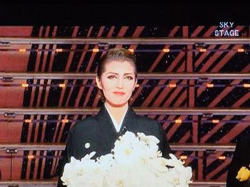星組千秋楽:瞳子さん大劇場卒業のご挨拶