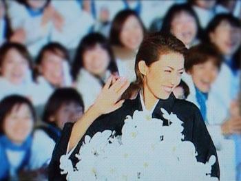 星組千秋楽:瞳子さんの卒業パレード