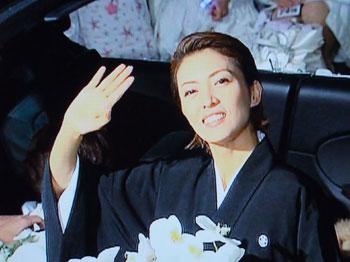 星組千秋楽:瞳子さん大劇最後の美しい笑み