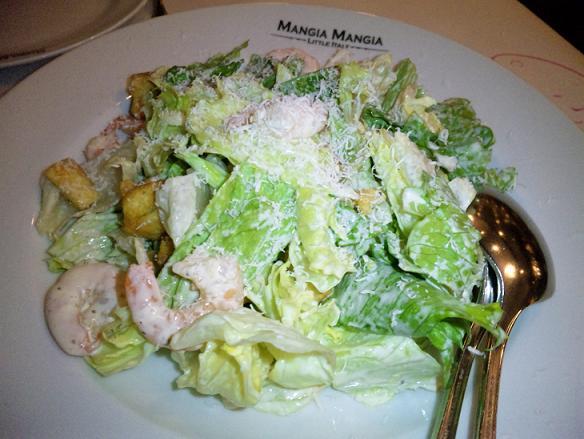 MANGIA MANGIA ceaser salad