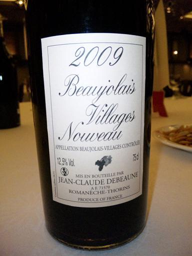 Beaujolais 2009 vin