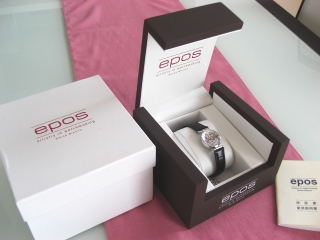 エポスの手巻き時計