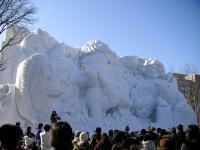 雪まつり08-チームナックス大雪像