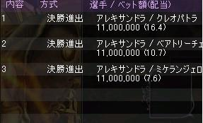 賭け32719