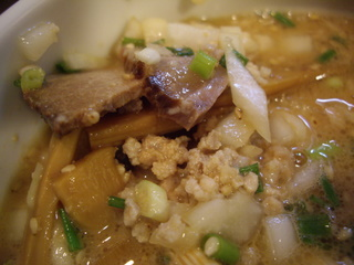多麺多 1.5倍ゴマつけ麺(具)