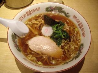 小田原城下らーめん宿場町 喜多方らーめん 一新 醤油らー麺
