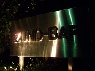 ZUND-BAR 看板