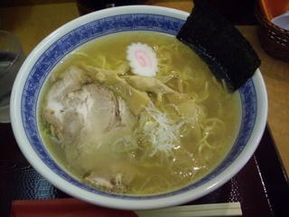 遠軽ラーメン江口 塩ラーメン