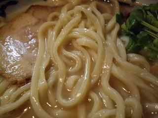麺屋我龍 我龍ラーメン(麺)